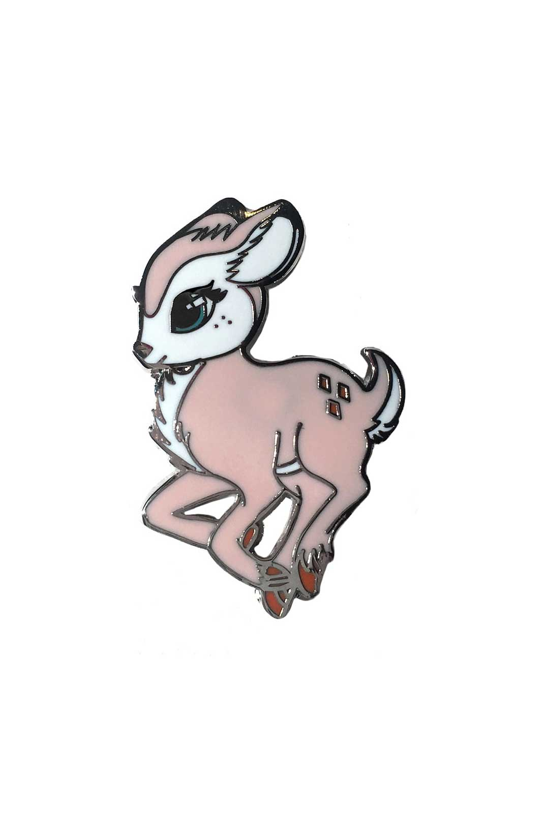 fearless illustrations faline pin