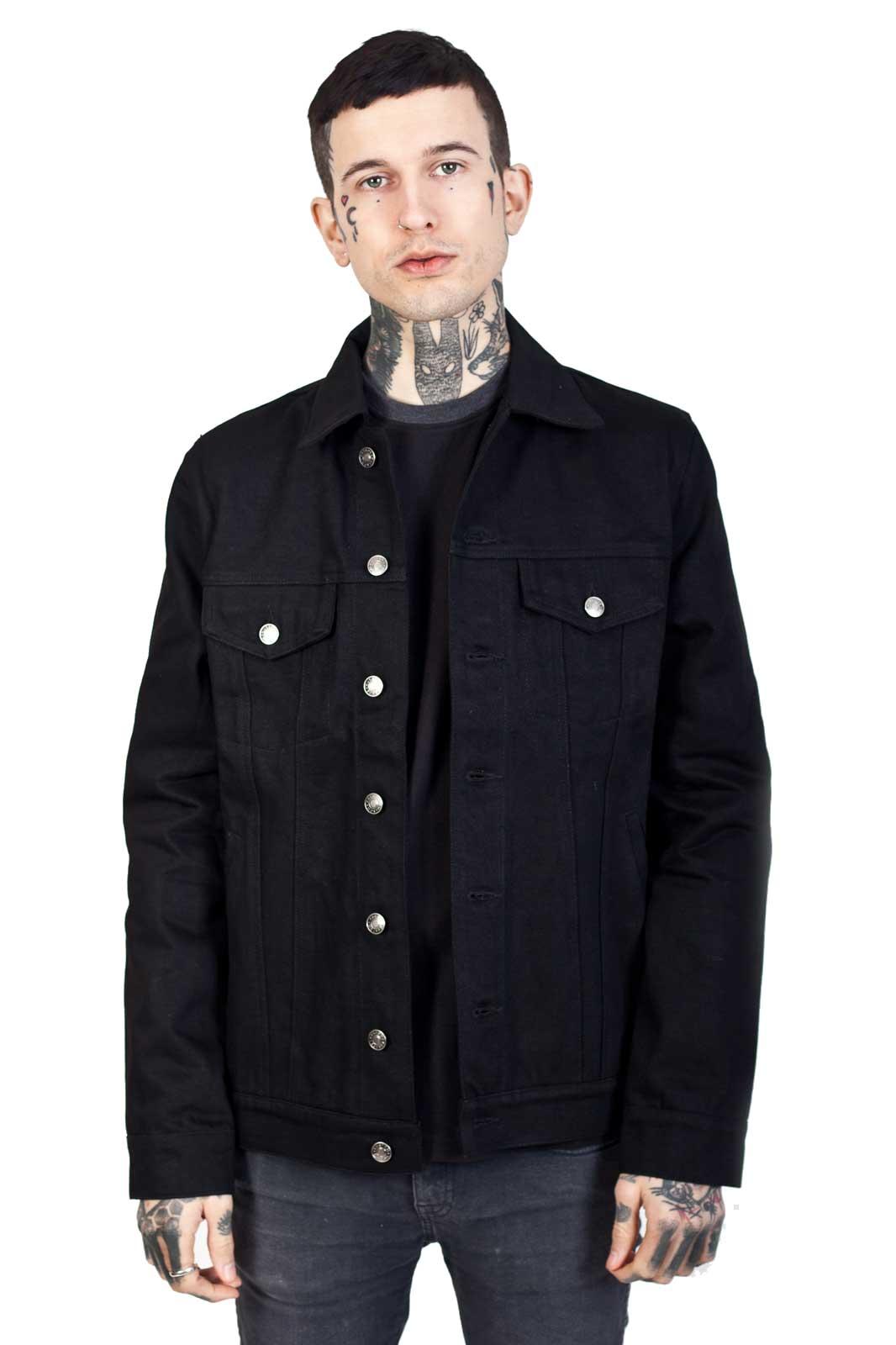 Kustom Creeps Denim Jacket front