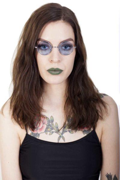 Small Lennon Sunglasses Blue