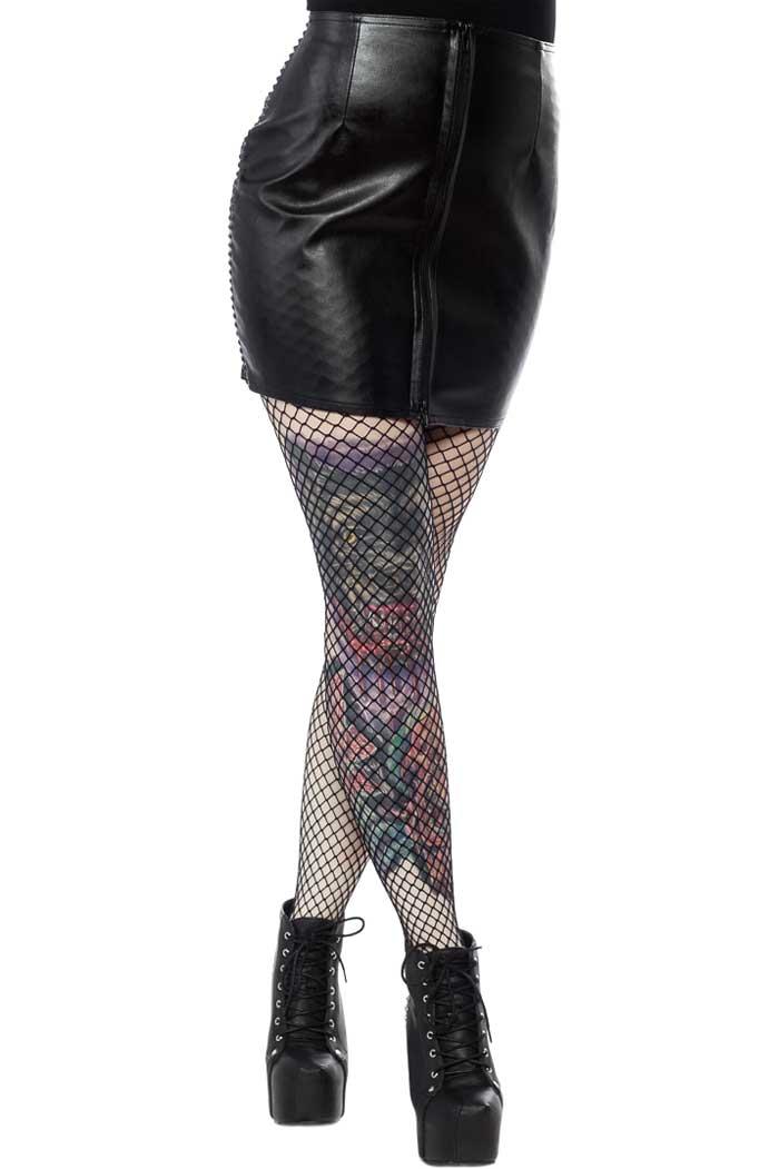 Fatale Mini Gloss Skirt Black