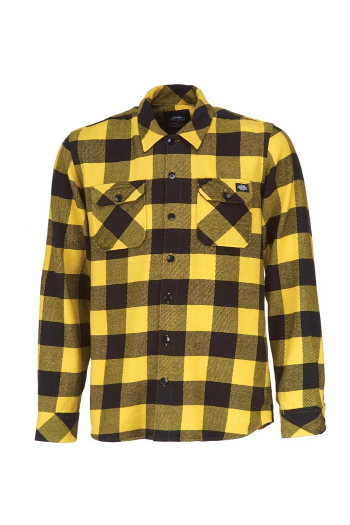 dickies sacramento shirt yellow