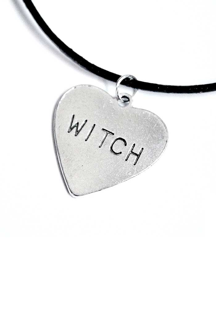 Witch Heart Cord Choker