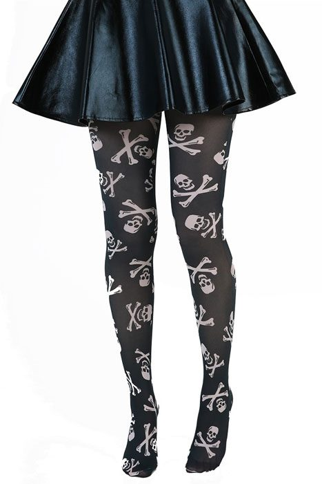Skull & Crossbone Tights