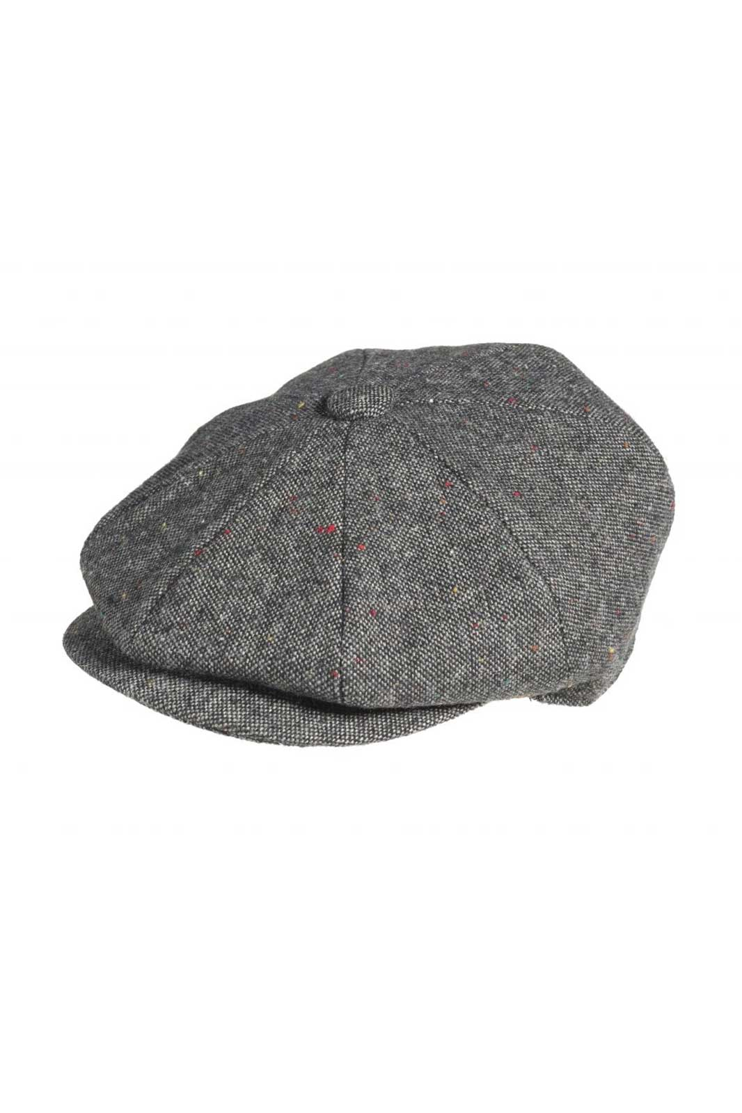 Newsboy Cap Croagh Black