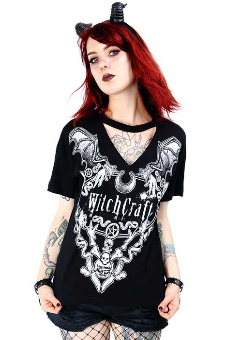 Choker Tee Witchcraft