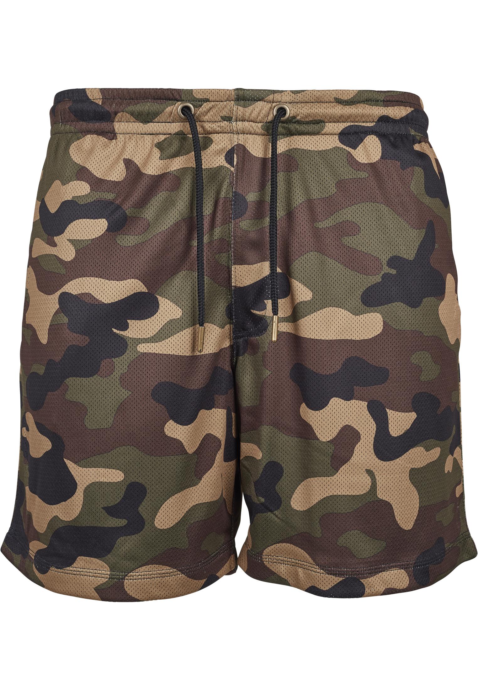 Mesh Shorts Camo