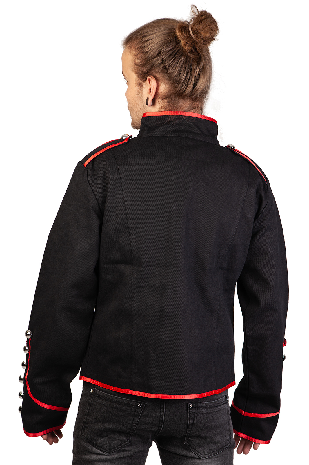 Admiral Jacket Red Piping