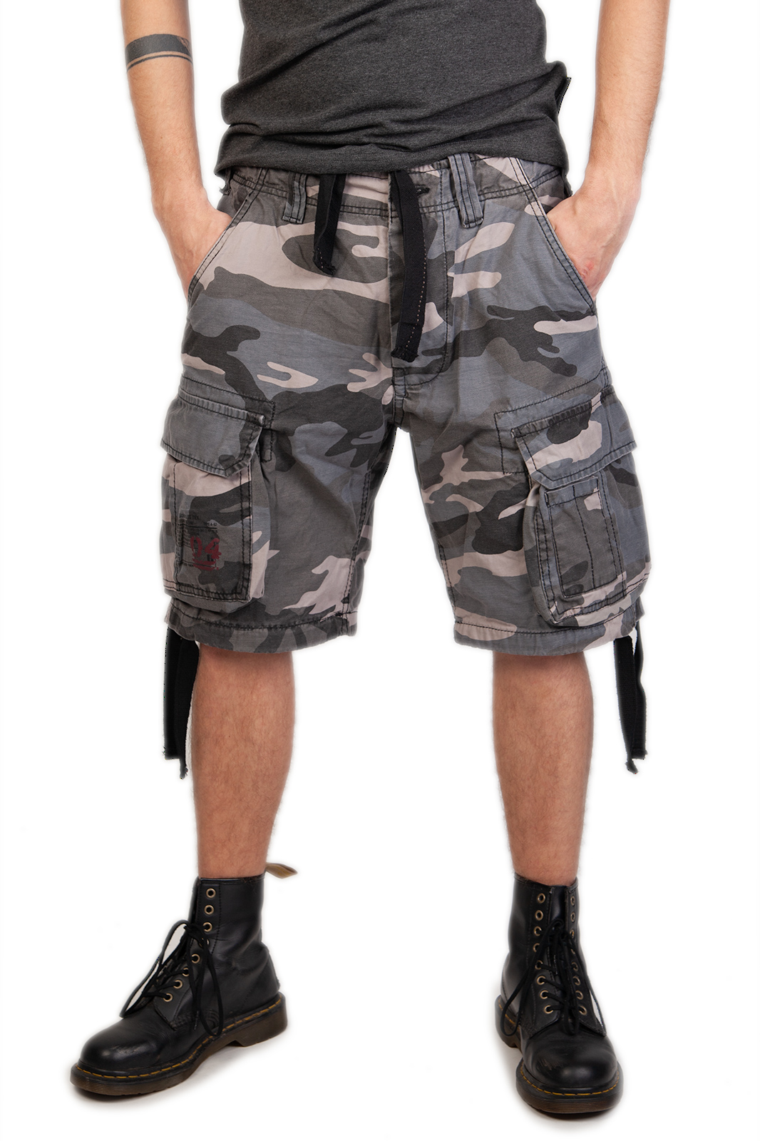Airborne Vintage Shorts Night Camo Camo