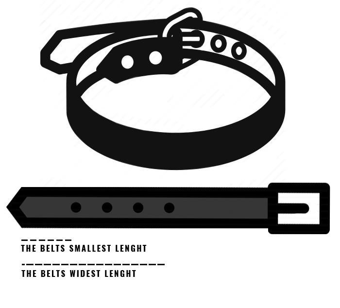 Storleksguide skärp