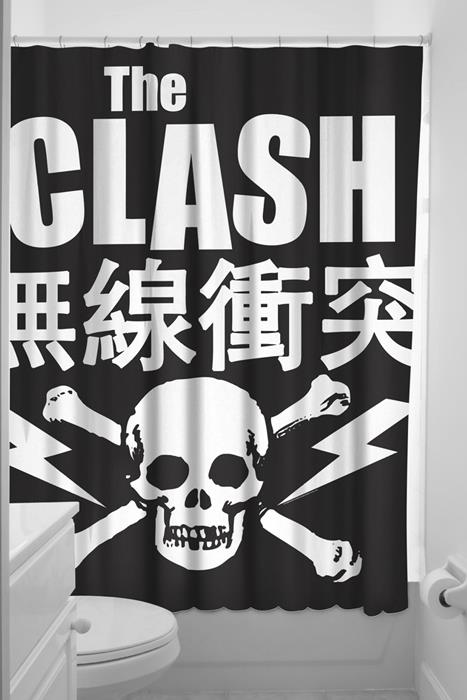 Shower curtain Clash