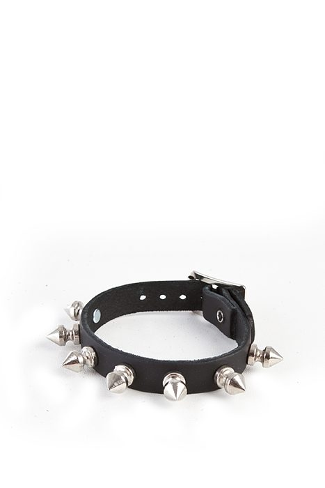 1-Row Spike-Wristband Black