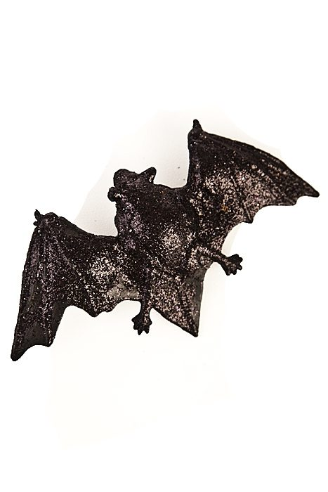 Glitter Bat Hairclips