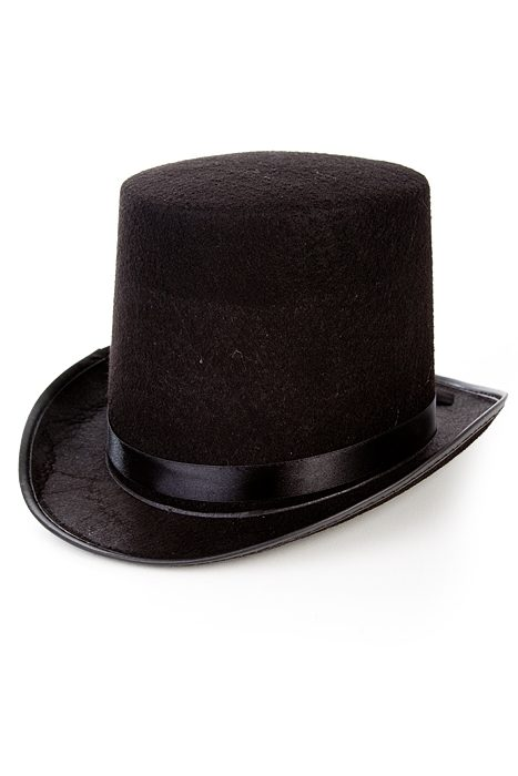 Maxi Black Top Hat