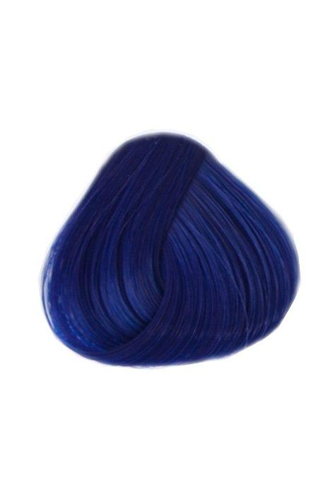 blå hårfärg som håller