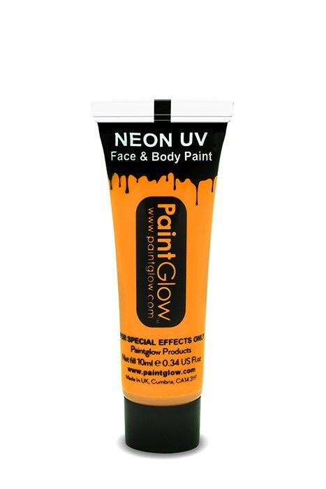 UV Neon Face & Body Paint Orange