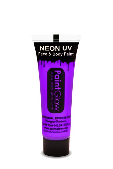 UV Neon Face & Body Paint Violet