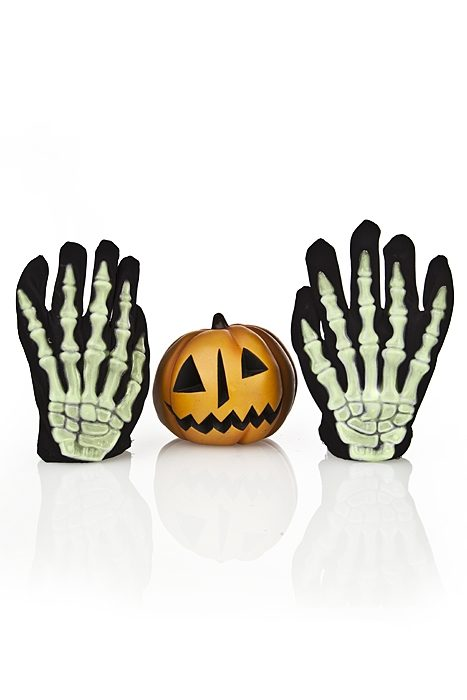 Glow in Dark Skeleton Gloves