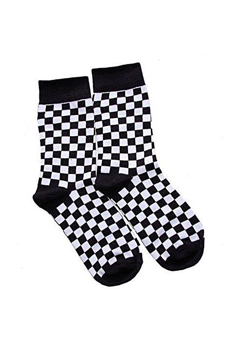 Checkered Socks 2-Pack