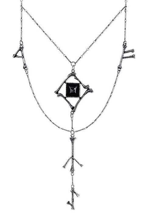 Runes & Bones Long Necklace
