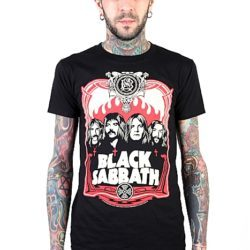 official merchandise boys tee black sabbath
