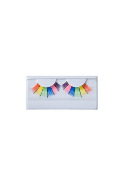 Lösögonfransar Eye lash #9 Multicolor