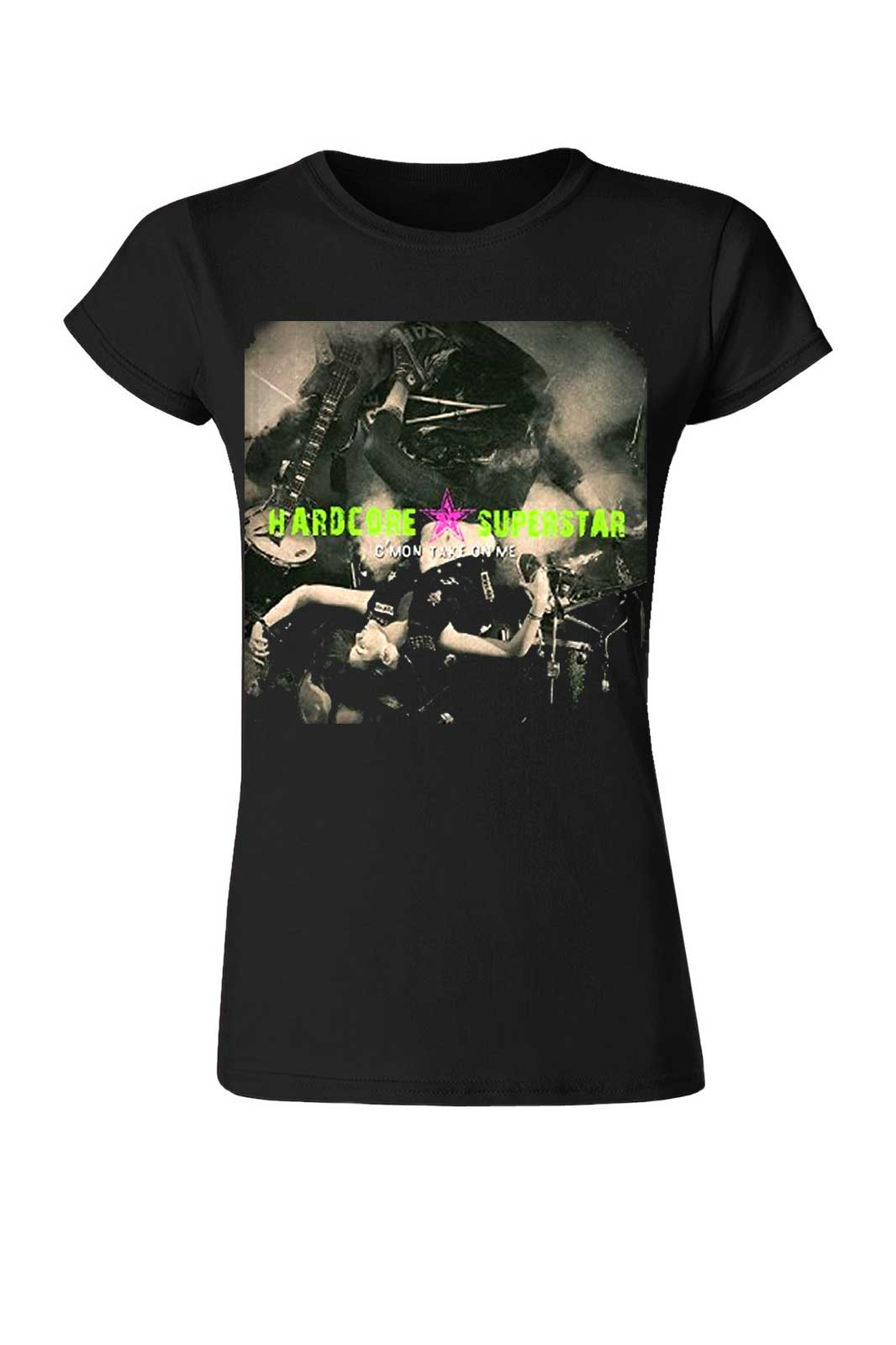 official merchandise girls tee c´mon take on