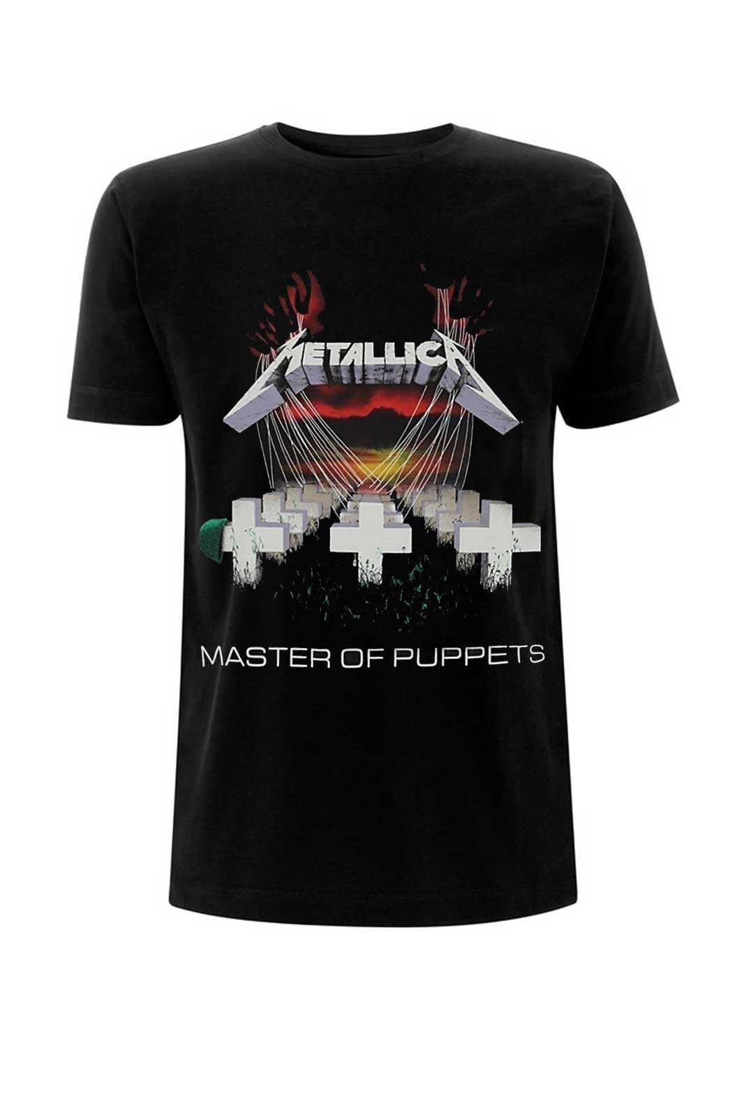 official merchandise metallica master of puppets
