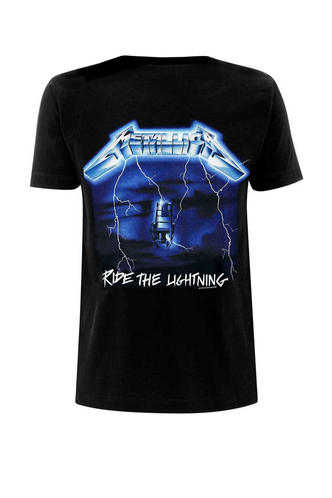 Unisex Tee Metallica Ride Blac