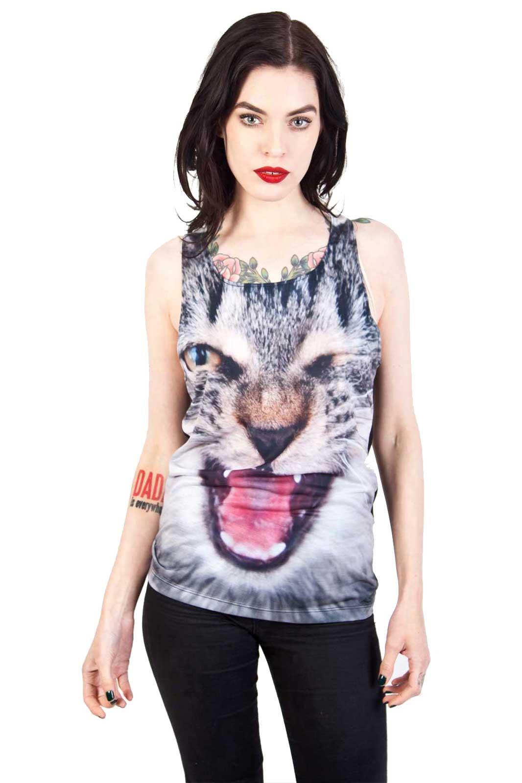 Vest Bad Kitty