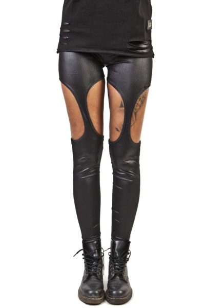 poizen industries cutout leggings