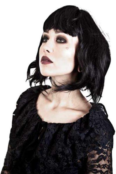 Gothic Vamp Wig Black