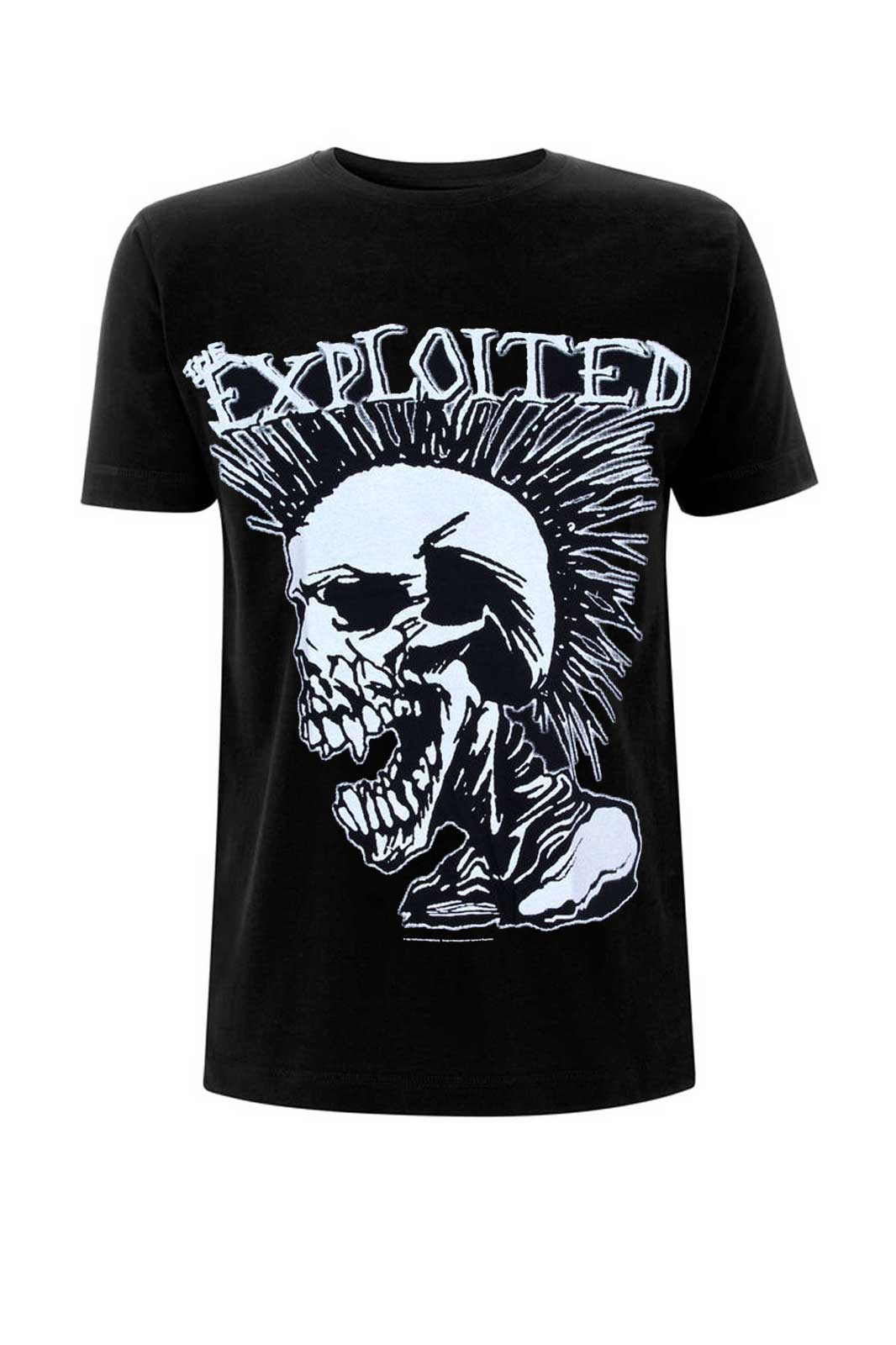 official merch boys tee exploited mohican