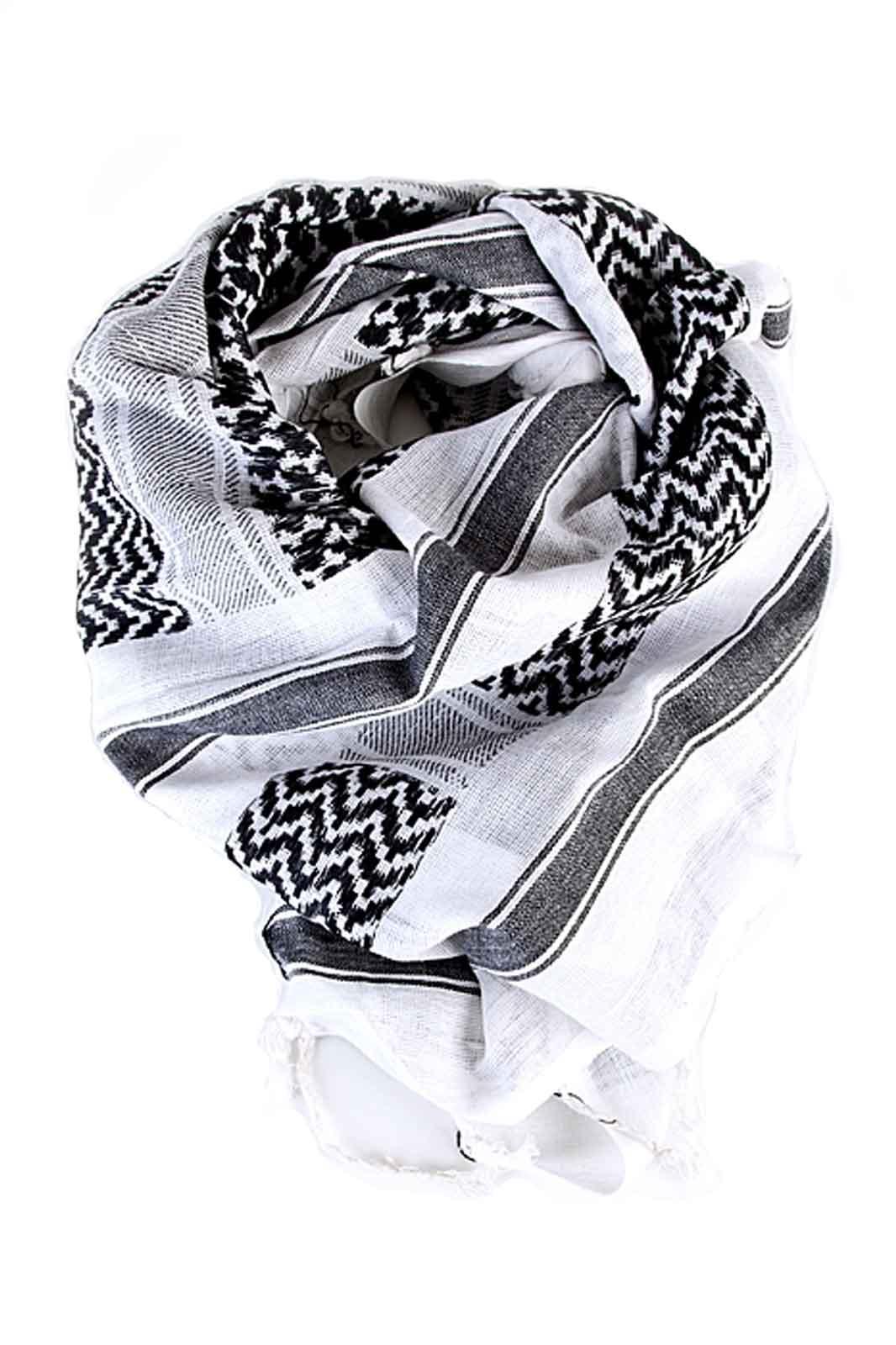 palestina scarf blk/wht