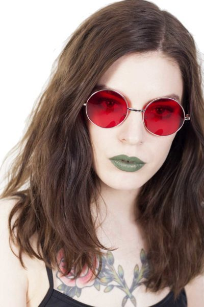Lennon Sunglasses Red