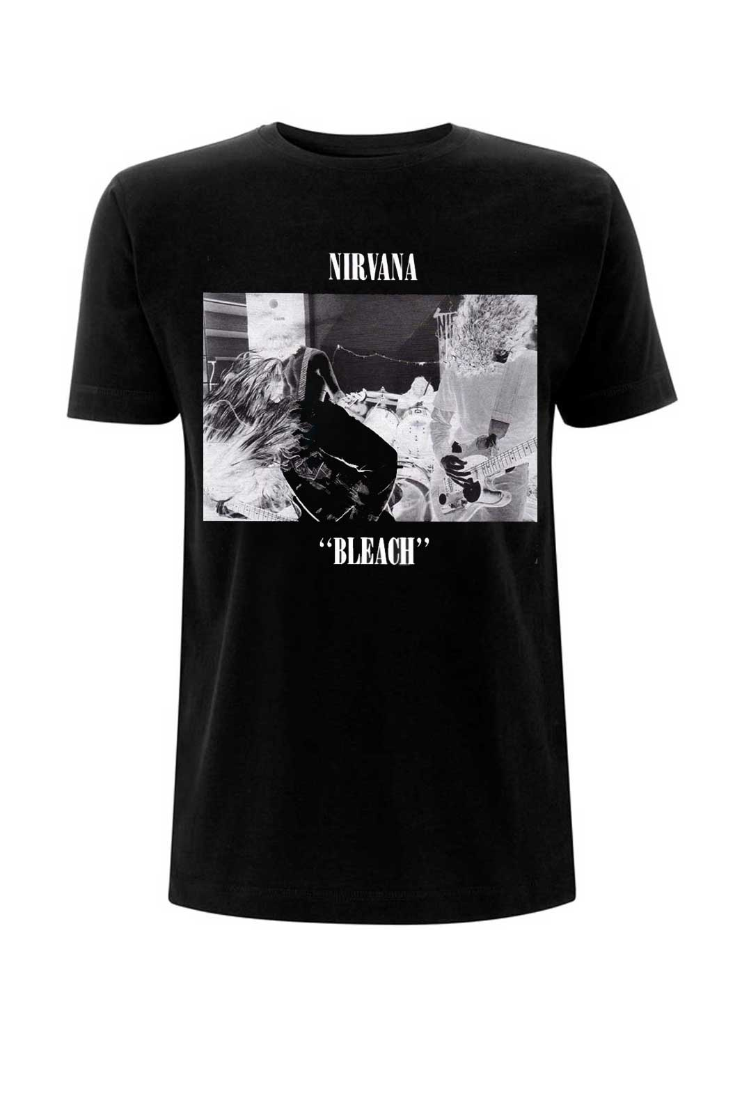 official merchandise tee nirvana bleach