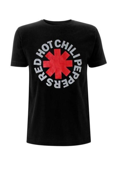 official merchandise tee rhcp asterisk