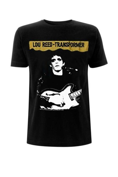 official merchandise tee lou reed transformer