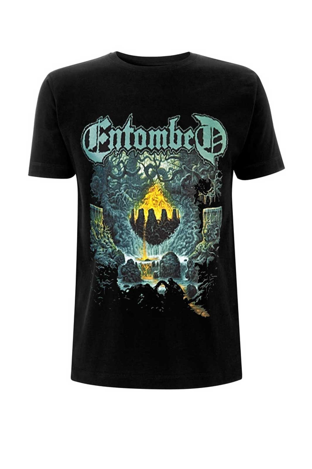 official merchandise tee entombed clandestine