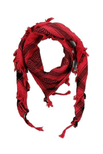 randomizer palestina scarf red