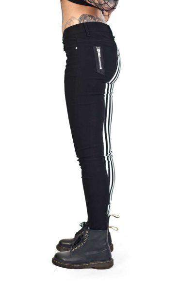 banned split pants stripe sida2