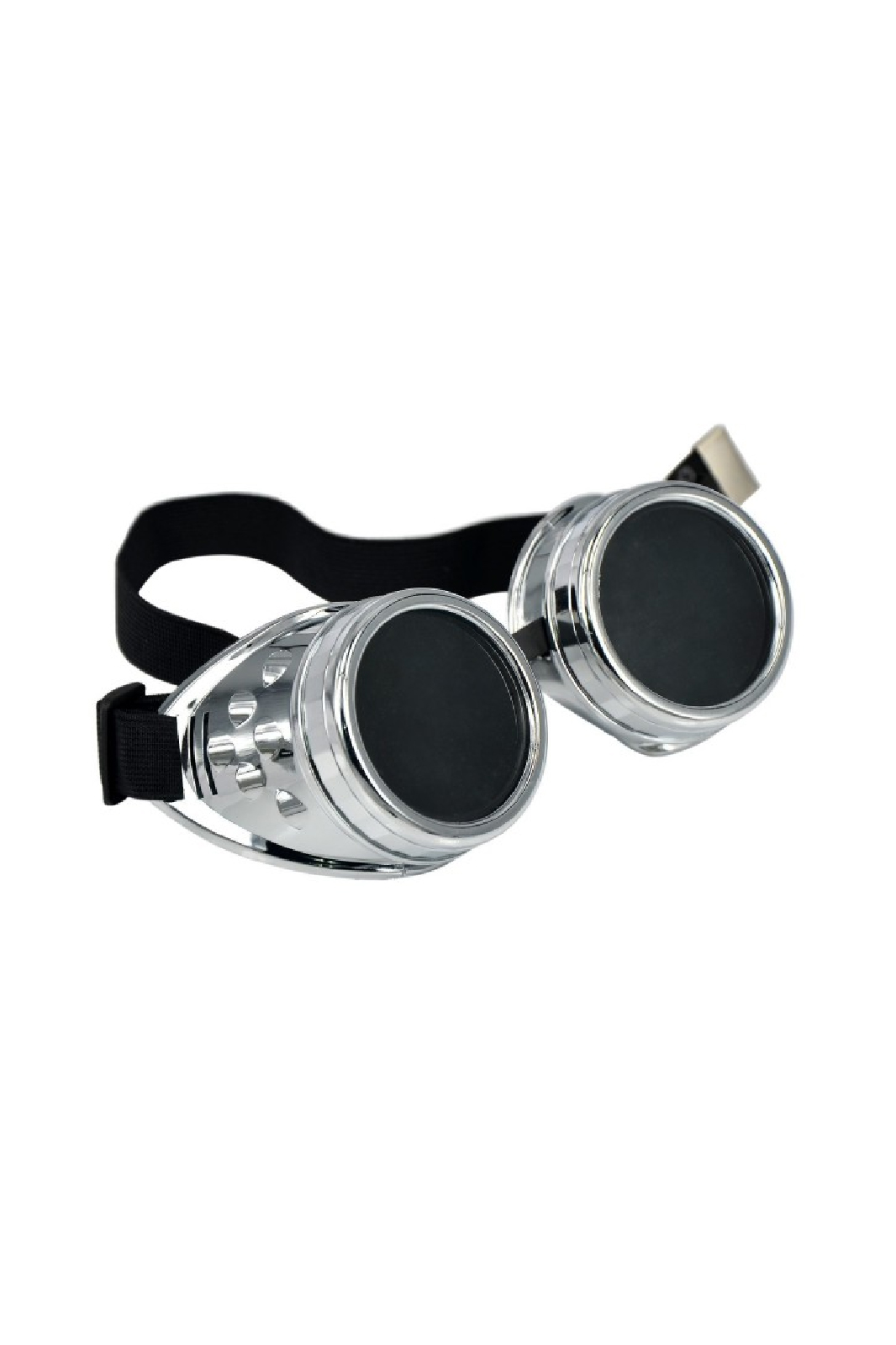 Sp Goggles Rivet Crome Black Lens