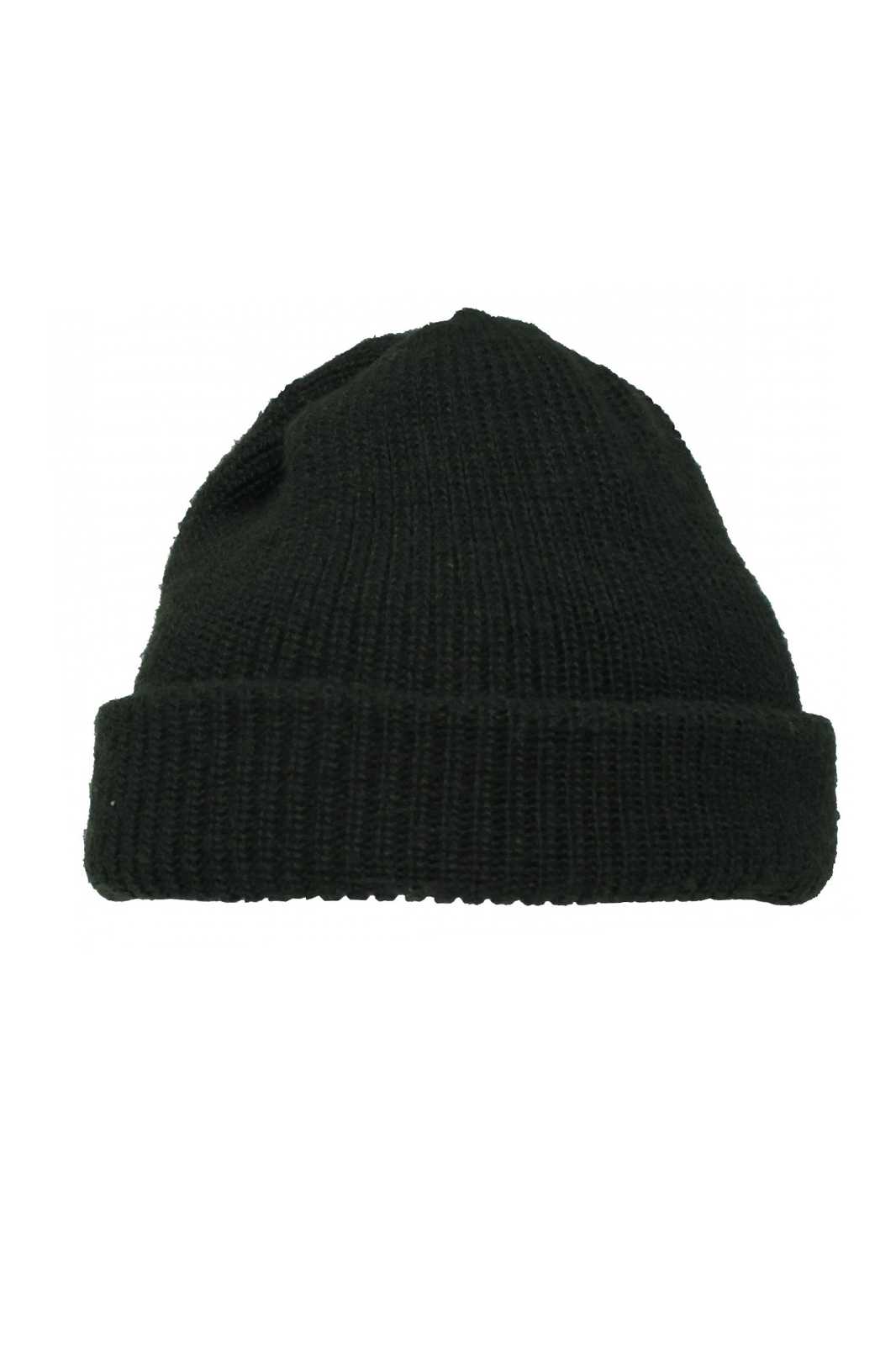 Knitted Watch Cap Black