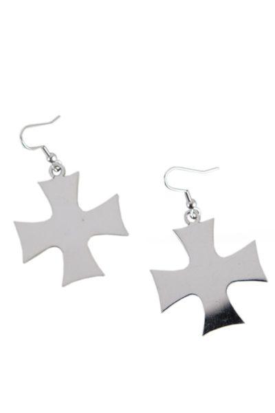 Earrings Iron Cross