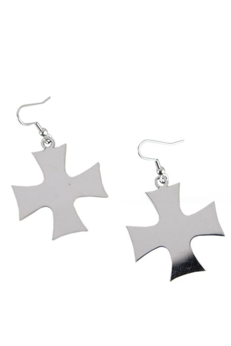 Earrings Iron Cross