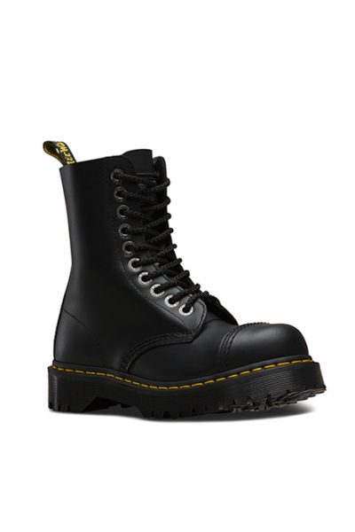 8761 10 EYE STEELTOE BOOT