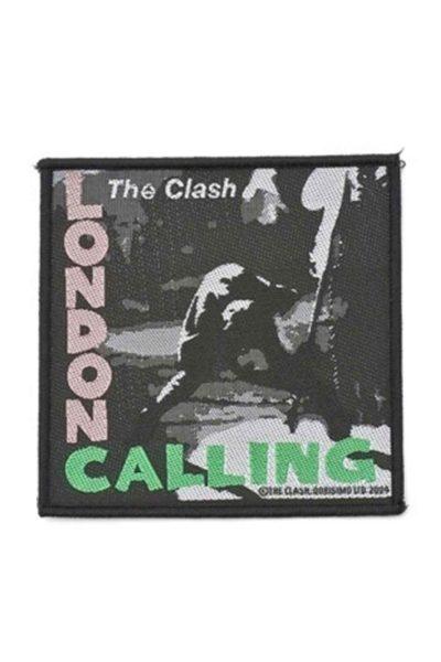 official merchandise the clash london calling patch
