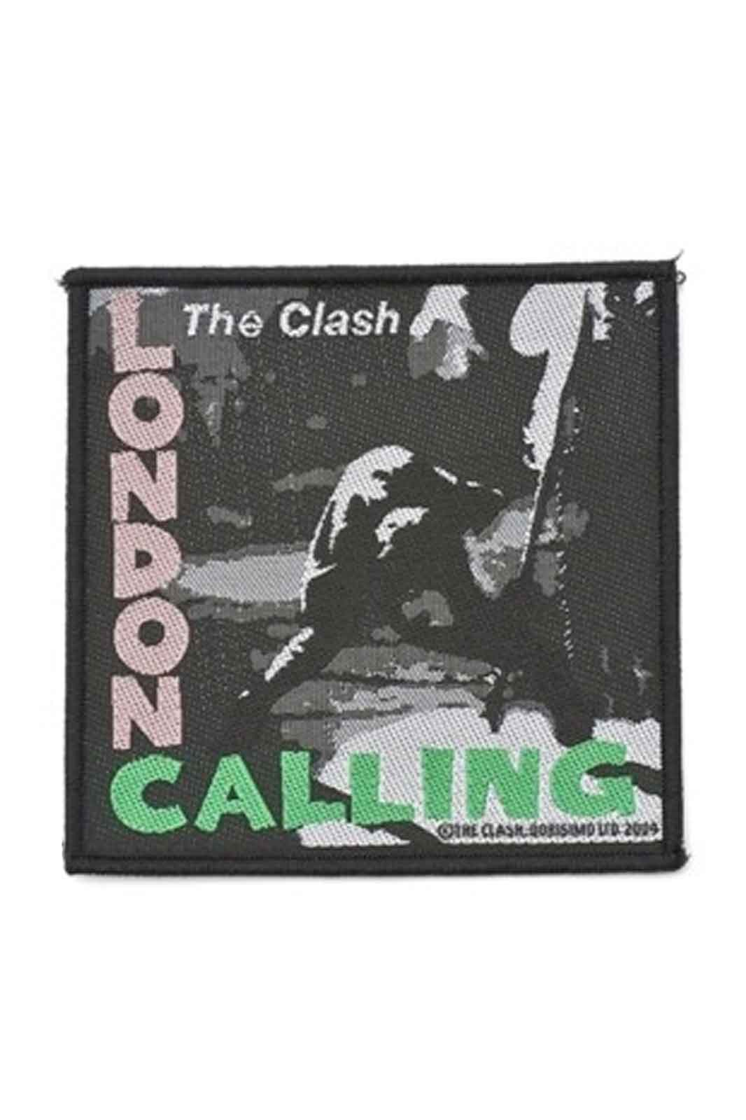 official merchandise the clash london calling patch