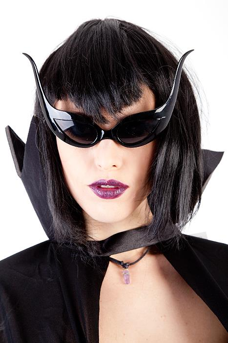 Bat Glasses Blk