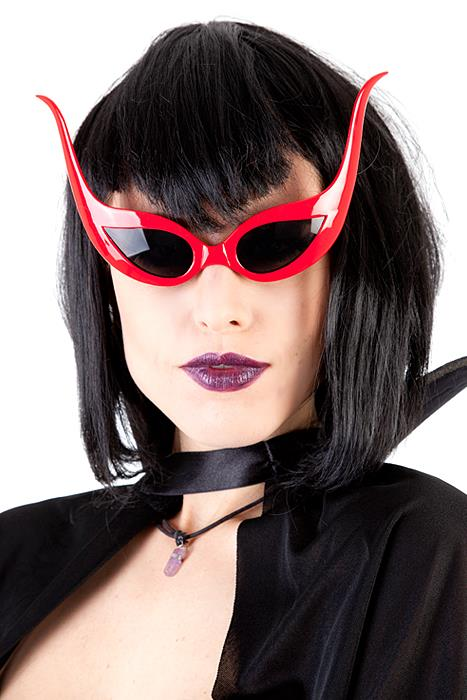 Bat Glasses Red