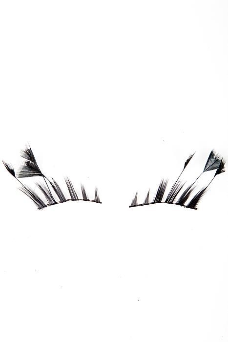 Eyelashes With Feathers
